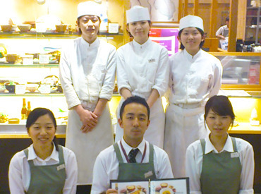 【Cafeスタッフ】憧れの≪カフェバイト≫を始めよう♪週2日&3h~OK⇒学生・フリーター・主婦(夫)、みなさん大歓迎!