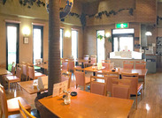 名古屋競馬場駅近くにある【喫茶ラ・セーヌ】◆。* 自由な雰囲気で、どなたでも安心して活躍できます♪