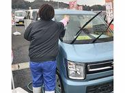 洗車業務をお任せ!道具の使い方は教えます☆ 車に興味がない…そんな方もお気軽に◎