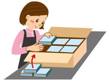 ◆30~40代主婦さん活躍◆ 未経験からのスタート多数!子育て経験者も多く、 作業のことからシフトまで、相談しやすい職場です♪