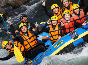 「長良川」の大自然で楽しみながら働けるレアバイト★夏休み期間のみもOK!