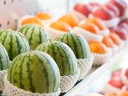 大切なのはタルトやフルーツを大切に扱うこと♪アナタが届けた商品が、お客様を笑顔にします◎