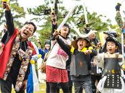 「外遊びを再び日本の文化に。」をコンセプトに、チャンバライベントの企画・運営なども行っていますよ♪