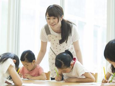 無資格・未経験でも、 「子どもと全力で付き合いたい」 そんな気持ちがあればOKです! ※画像はイメージです