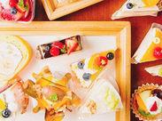 ★甘いモノ好きさん必見★ あの【フリュティエのケーキ】を無料で食べられます♪ 工場見学や体験勤務からのスタートもOK!