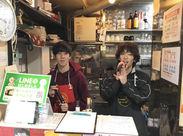 老舗カラオケ店なので、スタッフも幅広い年代(20~50代)が活躍中☆男女も問いません!!
