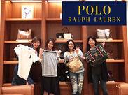 ポロシャツが人気の有名ブランド♪世界中から長年愛されています★お洋服も社割で安くGETできちゃいます!!