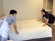 ≪綺麗なホテルでお仕事≫ 未経験でもはじめられる◎ 「久しぶりに仕事したい」 という方も歓迎♪ 研修でしっかり学びましょう!