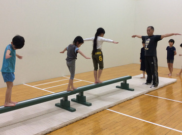 居心地が良く、長く続けるスタッフが多数! 体操や子供がお好きな方は特に必見☆