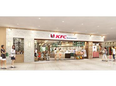 【ホール】\レア!!/KFCがオシャレなビュッフェに!?みんな一緒のSTARTだから同期もいっぱい♪★駐車場アリ⇒車通勤OKで通勤ラクラク!!