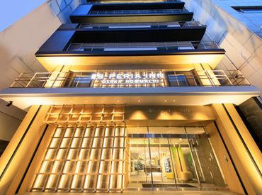 ≪ホテル業界未経験の方も大歓迎★≫ 本町駅から徒歩スグで通勤ラクラク◎ オープンしたてのキレイなホテルです♪