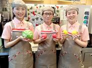 フレッシュな生野菜でつくったメニューをご提供♪期間限定メニューをいち早く食べれる★次は何のメニューかな…?毎日ワクワク♪
