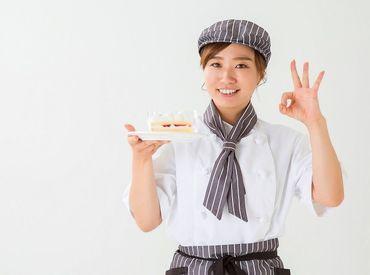 SNS映えのスイーツ・洋菓子の販売☆彡 見てるだけでワクワク楽しい♪ 短期&長期勤務⇒どちらでもOK◎  ※イメージ画像