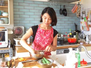 【家事staff】<< 休んでた期間が武器になる!! >>お家に行って、料理や作り置きをつくるだけ♪スグに働きたい方は最短7日で勤務できます◎