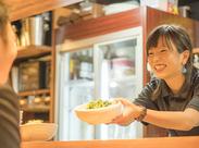 お客さまの「美味しかった!」や「また来ます♪」の一言が嬉しい♪その瞬間の嬉しさをあなたも体験してください!