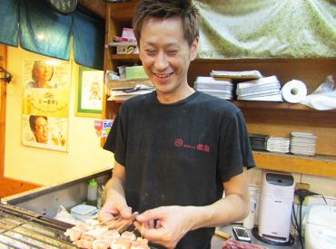 毎日笑いが絶えないお店★自称29歳の店長は親しみやすさ抜群です! 「将来居酒屋やりたいです」っていう方も大歓迎♪