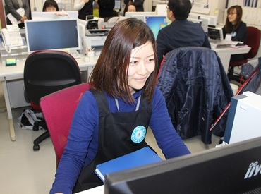 【事務Staff】◆シンプル作業の安定ワーク◆久しぶりのお仕事でもしっかりフォロー♪土日祝休みだからプライベートも充実◎