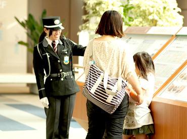 【施設の常駐警備】/ お買物中のお客様や施設従業員などの 安全を見守るお仕事!!\◆未経験、ブランクさんOK◆とっても簡単◆選べる勤務地
