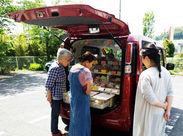 近隣のエリア内でパンの配送と販売のお仕事をお願いします! 未経験の方もスタッフが丁寧にサポートします◎