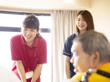 2006年開所!キレイな施設で働こう♪ 利用者さんの笑顔が見られるとこちらも嬉しくなります!