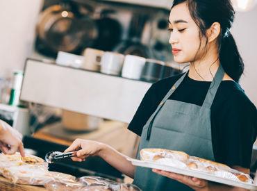 \パン好き集合~★/ 様々なお店のパンと出会えるチャンス◎ 好きな方にはたまらないお仕事です* 販売未経験も大歓迎♪