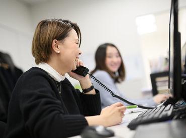 渋谷駅直結で通いやすさバツグン!天気の心配ナシで通勤できます♪コミュニケーションをとりながら楽しく働けますよ!