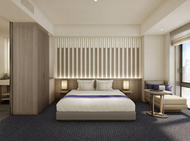 まだまだオープニングホテル♪♪ 新築でキレイなので 清掃のしやすさもバツグンです!