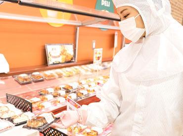 未経験者さんの応募も大歓迎!! 「スーパーでの経験ゼロ」という方も 先輩が丁寧にサポートします♪