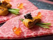 """★0円まかないが豪華★お客さんとして来ていたら""""○千円のお肉""""。だけど、特別な日には、自慢の大山黒牛を使ったまかないが*"""