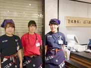 上野エキナカだから、雨の日も傘いらず♪週2日~OK!プライベートとの両立もらくらくです!ワイワイ明るい職場です◎