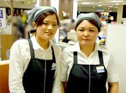 みんな大好き!和洋菓子の販売スタッフを募集中★ 落ち着いたお客様が多いので、接客もしやすいんですよ♪