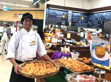 主婦さんや家族連れでにぎわう店内◎*゚+ パンの流行にも詳しくなれる、楽しいバイトです♪