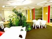 6階の景色が良くて開放感溢れるオフィスでお仕事♪残業もほとんどナシ!お仕事後に遊びにいくのも◎