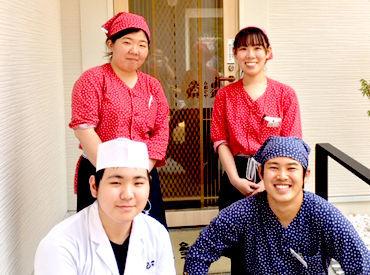 青島沖で採れた海の幸を ふんだんに使った料理が魅力!! 学生・フリーターが活躍中★