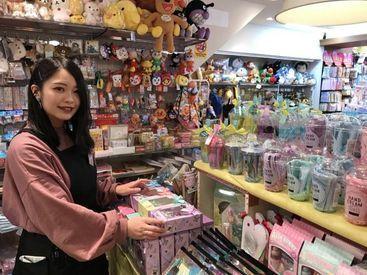 ≪お気に入りのキャラがきっといる♪≫ キラキラ×カワイイが詰まった店舗は 夢がいっぱい