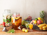 """フルーツの新しい可能性を追求するカフェ""""フタバフルーツパーラー""""。美味しくて楽しいスイーツや料理をご提供。"""