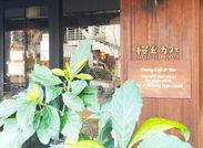 1日の始まりに桜丘カフェに集うのは様々な人たち。近隣会社の方や海外からのお客様にも多くご利用いただいています。