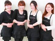 STAFFは若手の女性が中心♪お客様にきめ細やかなサービスをご提供するため、しっかりと研修も行います◎