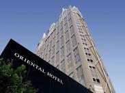 平和大通りに面した『オリエンタルホテル』.+* 丁寧にサポートするので安心してはじめられます♪