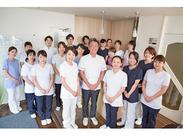 現在、歯科助手20名、歯科医師9名、歯科衛生士10名が在籍しています!仲間も多く、困ったことがあればなんでも相談出来ます♪