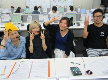 【電話対応】<自由度高めのオフィス>髪型・髪色・服装、あなたの好きなスタイルで出勤OK♪JR大阪駅からスグ!通勤しやすいオフィス☆
