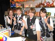 ≪お店は横浜駅相鉄口から徒歩30秒!!≫バイト後も寄り道して帰れますよ♪バイク・自転車通勤もOK!可愛い制服でやる気もUP★