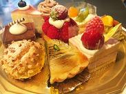 【金沢ニューグランドホテル】が出店しているケーキの販売♪ 未経験OK◎スイーツ好きな方も大歓迎です!