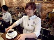 本格派コーヒーをご提供!  お客様はもちろん スタッフにとっても居心地のいい環境を用意して待っています♪