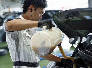 【ガソリンスタンドStaff】洗車・給油・軽整備など◎\学歴・経験は問いません!/未来に向けてステップアップ!《国家資格》整備士の資格取得サポート!!
