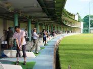 ★ 梨香台ゴルフガーデン ★ 3階建て/96打席の打ちっぱなし施設です!! 広大な施設で気持ちよく働きませんか♪