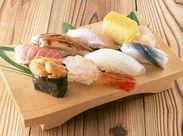 \始めるきっかけはなんでもOK!/ お寿司が好き…お店の雰囲気が良いetc. 「気になった」そんな方はお気軽にご応募くださいね♪