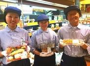 """働くところはアクセス抜群""""上野""""♪駅直結だから、暑い日も雨の日もラクラク◎お仕事終わりにショッピングも楽しめます★*゚"""