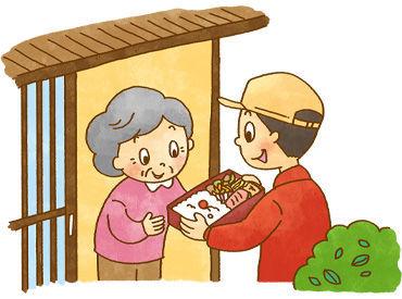 ≪お弁当の盛付&配達≫ 配達ルートは基本的に同じです☆ 主婦さん活躍中!
