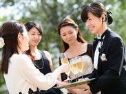 名古屋で人気のブライダルのお仕事★サービスのスキルアップも可能!自分の経験を活かして、しっかり稼ごう